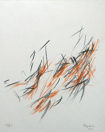 Lithographie Bazaine - Jonchée