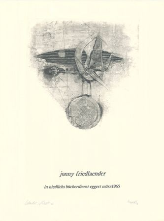 Eau-Forte Et Aquatinte Friedlaender - Jonny Friedlaender in niedlichs bücherdienst eggert märz 1965