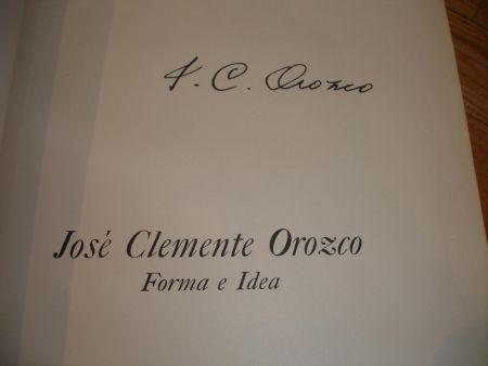 Livre Illustré Orozco - Jose Clemente Orozco. Forma e Idea.