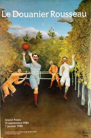Offset Rousseau - Joueurs de Football  Grand Palais