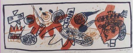 Lithographie Corneille - Journee feerique