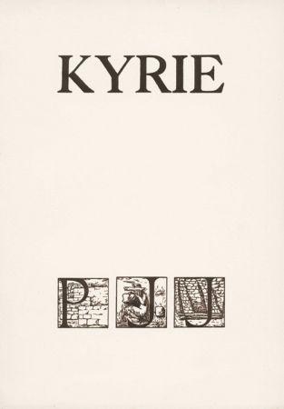 Livre Illustré Sima -  JOUVE (Pierre Jean).  Kyrie.