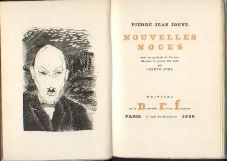 Livre Illustré Sima - JOUVE (Pierre Jean). Nouvelles noces.