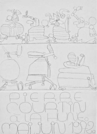 Gravure Courtin - Jubilé de Mars : affiche pour La Hune