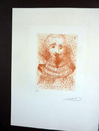 Gravure Dali - Jules Verne