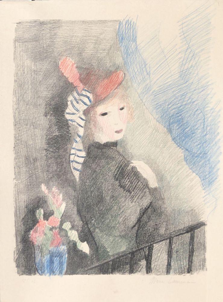 Lithographie Laurencin - Juliette
