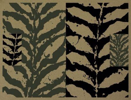 Sérigraphie Titus Carmel - Jungle