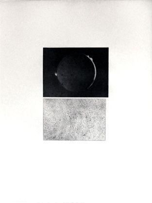 Gravure Celmins - Jupiter Moon – Constellation