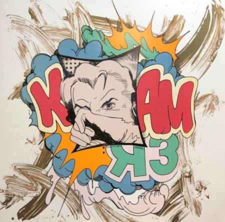 Sérigraphie Crash - K Bam