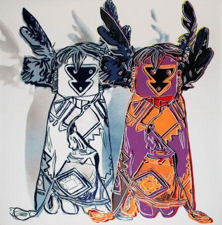 Sérigraphie Warhol - Kachina Dolls (FS II.381)