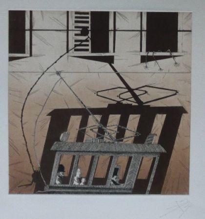 Lithographie Ponç - Kafka