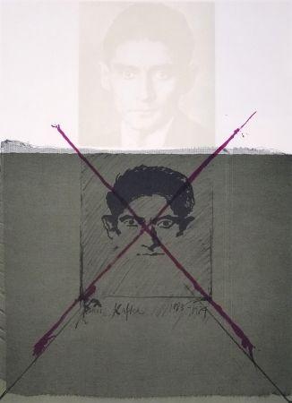 Lithographie Bru - Kafka