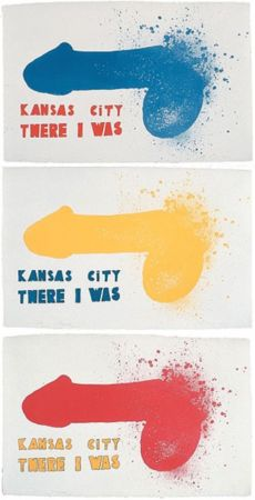 Lithographie Dine - Kansas City (3 sheets)