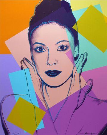 Sérigraphie Warhol -  Karen Kain (FS II.236)