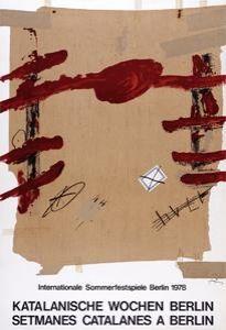 Affiche Tàpies -