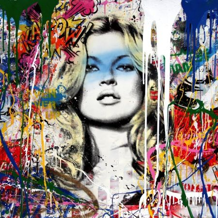Aucune Technique Mr Brainwash - Kate Moss