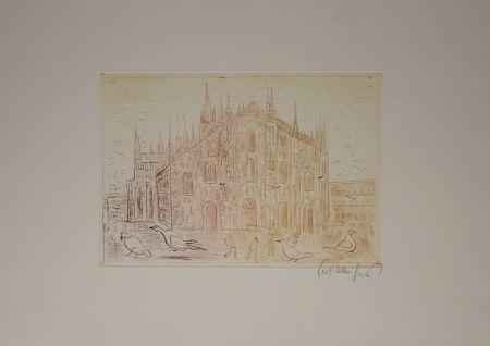 Gravure Mühlenhaupt - Kathedrale