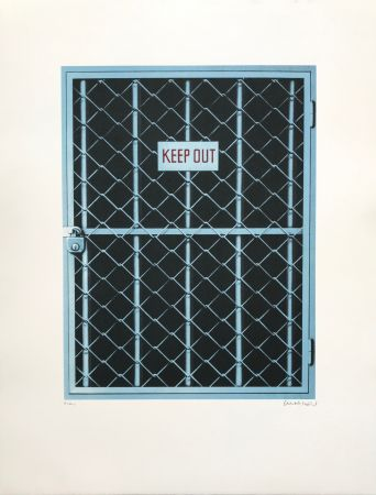 Sérigraphie Klasen - Keep Out
