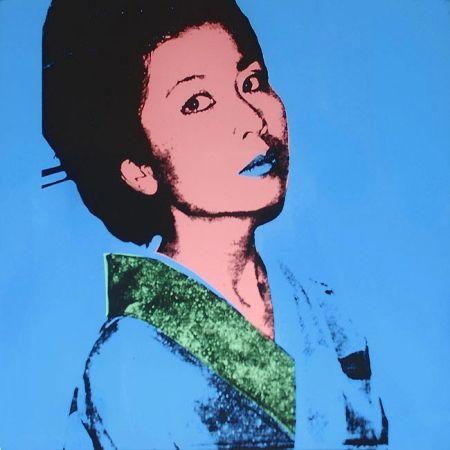 Sérigraphie Warhol - Kimiko