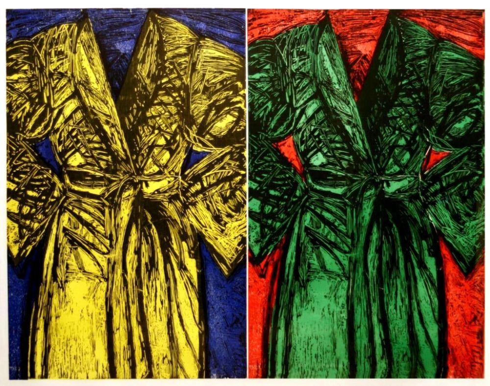 Gravure Sur Bois Dine - Kindergarten Robes