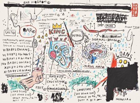 Sérigraphie Basquiat - King Brand