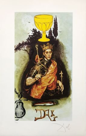 Lithographie Dali - KING OF CUPS
