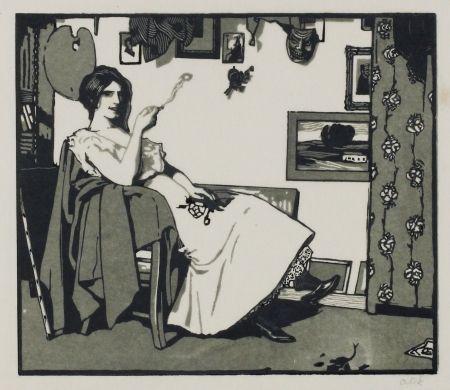 Gravure Sur Bois Orlik - Kleine Holzschnitte 1896-99 (Small Woodcuts)