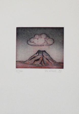 Eau-Forte Et Aquatinte Franke - Kleiner Berg / Little Mountain