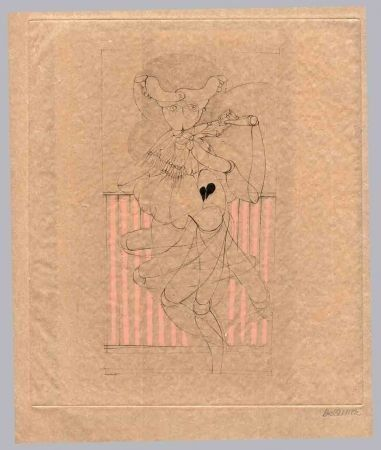 Livre Illustré Bellmer - Kleist (Heinrich Von). Les Marionnettes.