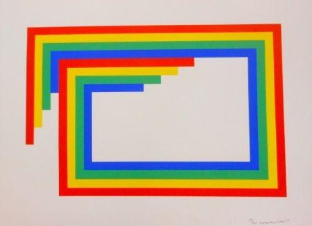 Sérigraphie Loewensberg - Komposition