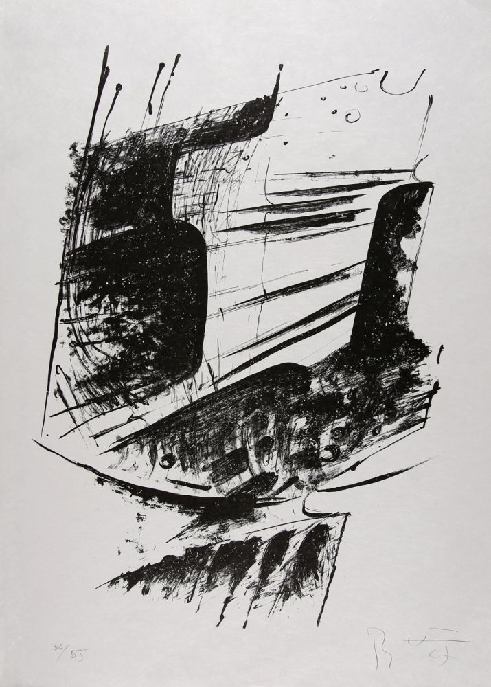 Lithographie Heiliger - Komposition I