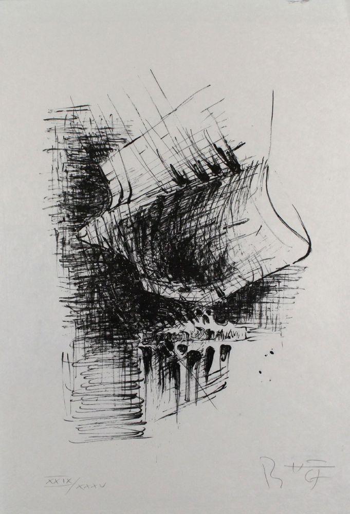 Lithographie Heiliger - Komposition VI