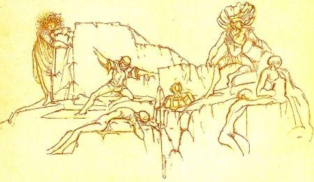 Livre Illustré Clerici - Kouros
