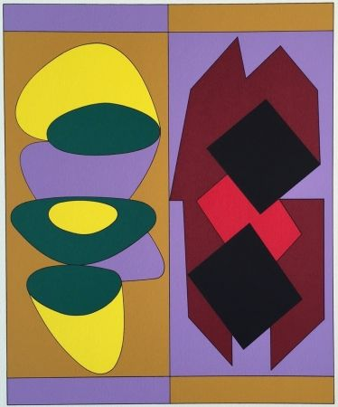 Sérigraphie Vasarely - Kris Bille, from Ion Album