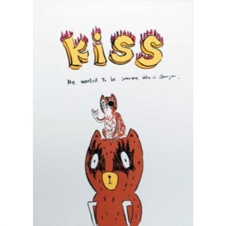 Lithographie Kaga - Kumacchi wanted to be someone else