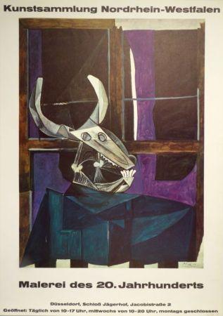 Affiche Picasso - Kunstsammlung Nordrhein-Westfalen. Malerei des 20. Jahrhunderts