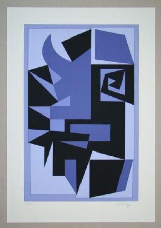 Sérigraphie Vasarely - Kwartz