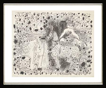 Lithographie Picasso - L'Éyuyère, 1960