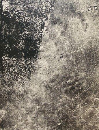 Lithographie Dubuffet - Lèpre