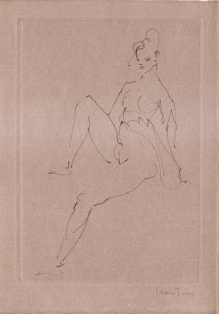 Livre Illustré Fini - L'épouse infidèle.  Poemes.  Deux eaux-fortes originales de Leonor Fini.