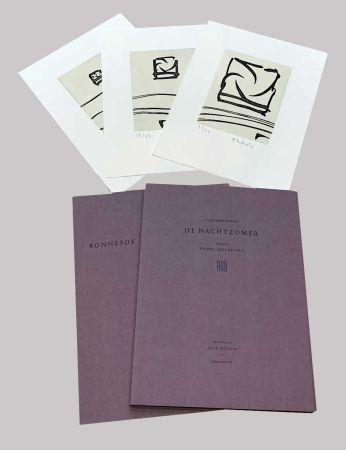 Livre Illustré Alechinsky - L'été de nuit