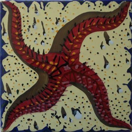 Céramique Dali - L'étoile de mer