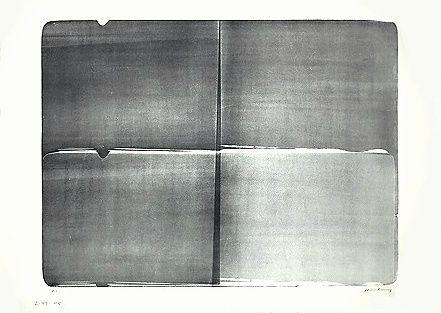 Lithographie Hartung - L-09a