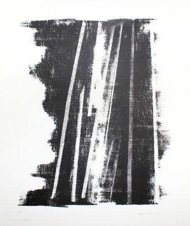 Lithographie Hartung - L-1