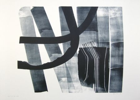 Lithographie Hartung - L-13-1974