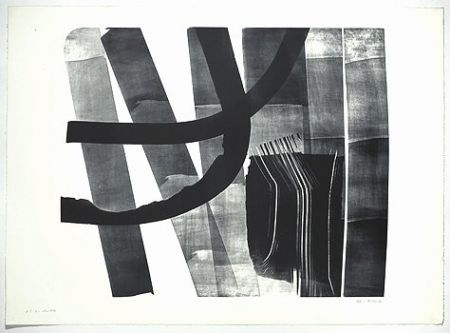Lithographie Hartung - L-13