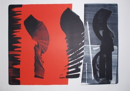 Lithographie Hartung - L-14B-1974