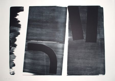Lithographie Hartung - L-15-1974