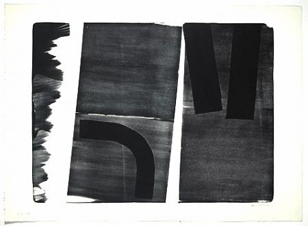Lithographie Hartung - L-15