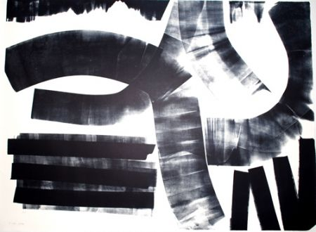 Lithographie Hartung - L-17-1974